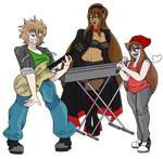 C: The Local Band by ACLuigiYoshi