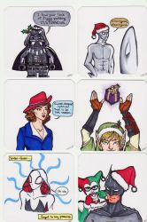 Christmas Cards 2015 pt 1 by paper-stars
