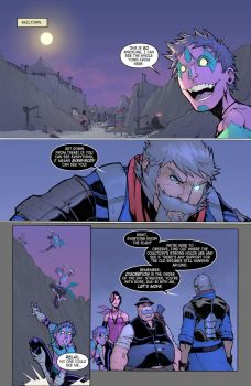 The Last Sheriff Issue 4 Pg3 by RecklessHero