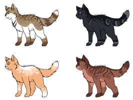 Cat Adoptable Batch [2/4] OPEN by DevilsRealm
