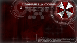 -Umbrella Corp. Wallpaper- by Lady-Elizriel