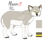 Moon Reference by Gabrielethefoxdog