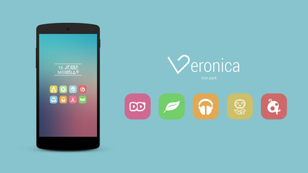 Veronica - Icon Pack by federico96