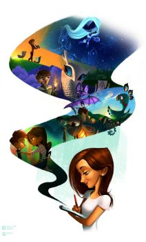 DeviantART ID 2014 - Welcome to my world! by Jevela