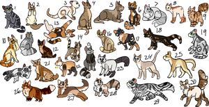 Cat Adopts {5/30 open} by Esternna