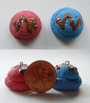 Ice Cream Scoop Charms by Amy-the-Artisan