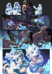 Commission - Comic Page Ice by shonemitsu