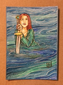 Lady of the Lake by ParadoxSketchbook