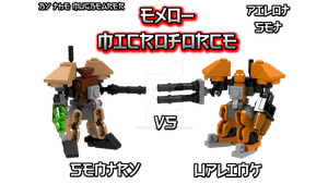 [LEGO Ideas] Exo-MicroForce Pilot Set by TheMugbearer