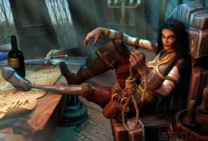 Commission: Lily Darling, Pirate Hunter by Belvane