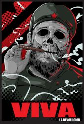 Castro Political Poster by ReallyLive