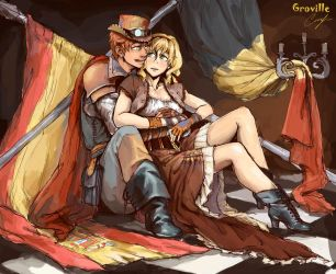 [APH] Spain/Belgium by GrovilleS