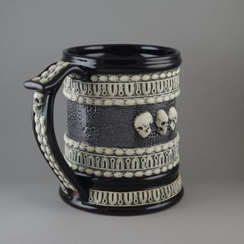 Skulls Beer Stein by TheTrespasser