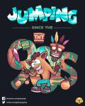 Jumping Since the 90s by Geekydog