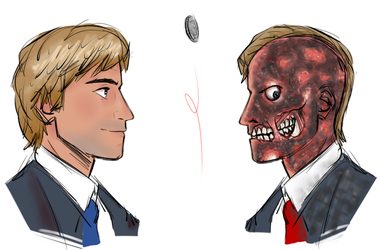 Two-Face by JohnnyZim777