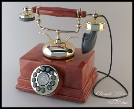 Classic phone by milenplus