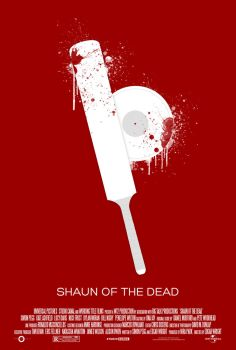 3 Flavors Trilogy: #1 'Shaun of the Dead' poster by NewRandombell