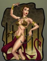Leia the Slavegirl by statman71