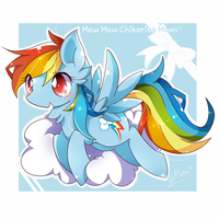 Rainbow Dash by ChikoritaMoon