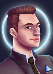 Connor Portrait by Carmeval