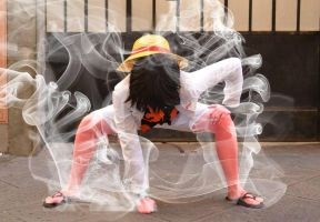 Monkey D. Luffy - One Piece Gold cosplay (3) by Cherryliciousss