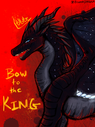 Wings of Fire - Bow to the KING by Biohazardia