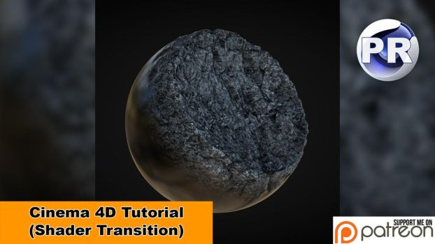 Shader Transition (Cinema 4D Tutorial) by NIKOMEDIA