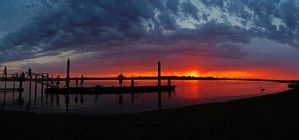 Barwon Heads River Panorama by daniellepowell82