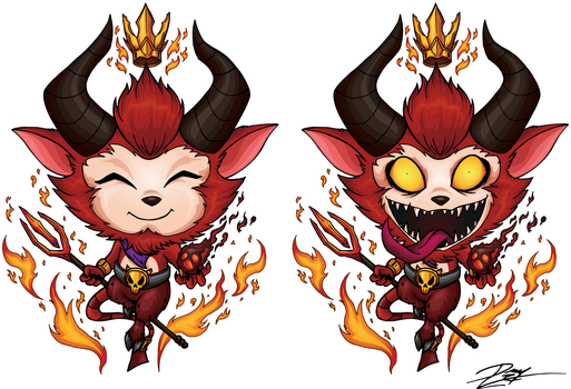 Little Devil Teemo by Kraus-Illustration