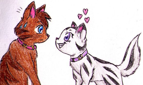 FOC - Timmy and Tootie by angeldemonpinkpup