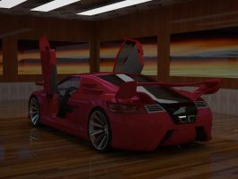 Concept car E043 f by ely862me