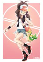 Hilda and Snivy