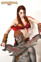 Godess of War ~ Kratos Cosplay by Shady-Chan