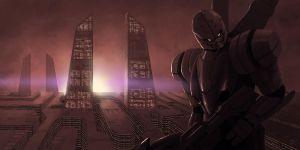 Just a robot by kabarsa