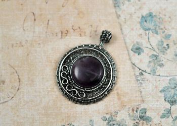 Amethyst Medallion by FreiaInguz
