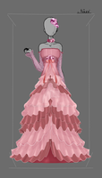 Dress Design: Trusts' Wedding Dress by NoxidamXV