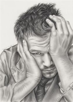 Heath Ledger by elvenart24