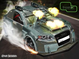 Audi RS4 Death Race by CyraxDS
