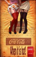 Old Coke Ad by Canankk