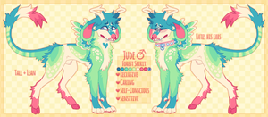 forest spirit dog auction (closed) by vvolfbites