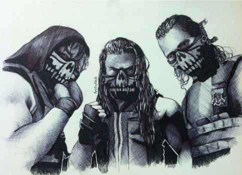 Pen - The Shield. by Artbynash