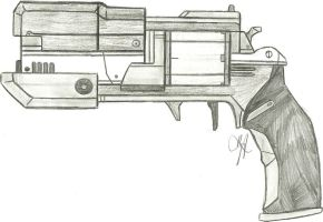 The Stampede Exotic Hand Cannon by Chigiri16