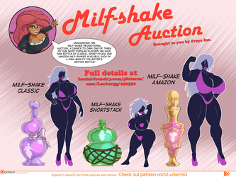 Milf-Shake Auction, lineup 1 by Lurkergg