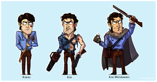 Ash Williams by CoraOrvat