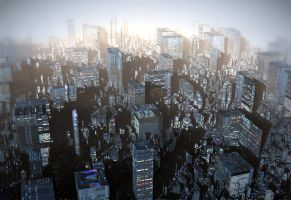 Ebony City by HalTenny