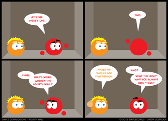 SC156 - Fourth Wall by simpleCOMICS