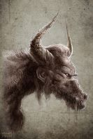 The Minotaur by Noumier