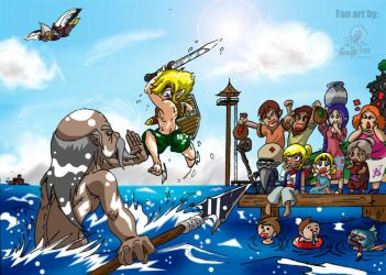 The Wind Waker by leadpoint