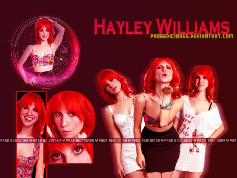 Hayley Williams by PabeEditions