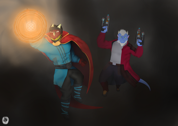 The heroes of the world by Neofactory02